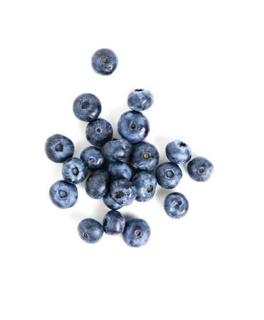 Photo for sweet blueberries isolated on white background - Royalty Free Image