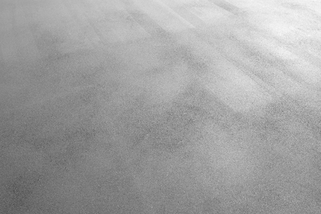 Photo for Asphalt background texture. New fresh asphalt black and white - Royalty Free Image
