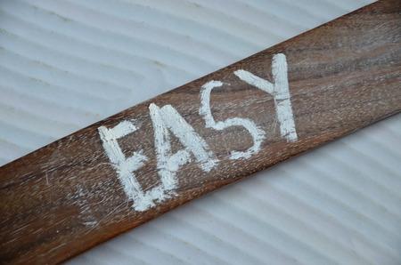 Photo pour easy word - image libre de droit