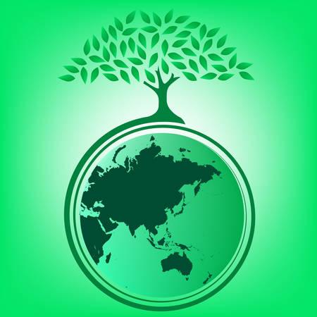 Big tree providing shade for the earth