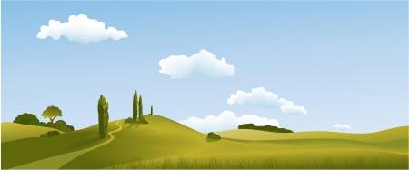 Photo pour Rural landscape - image libre de droit
