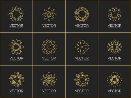 Foto de Vector geometric symbols - Imagen libre de derechos
