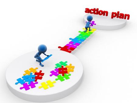 Foto de Action plan - Imagen libre de derechos
