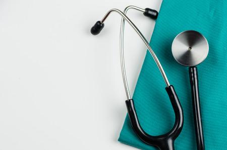 Foto de medical examination, stethoscope, medicine and therapy, background - Imagen libre de derechos