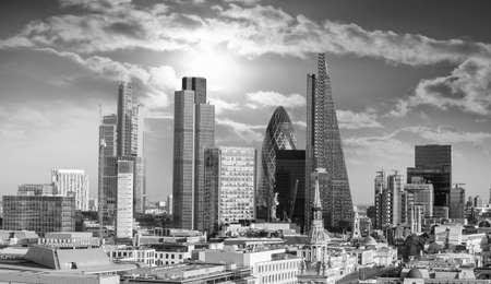Foto de Beautiful London skyline. - Imagen libre de derechos