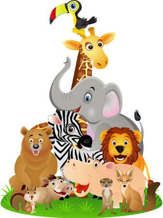 Photo pour Animal cartoon - image libre de droit