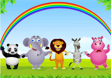 Illustration for Animal cartoon - Royalty Free Image