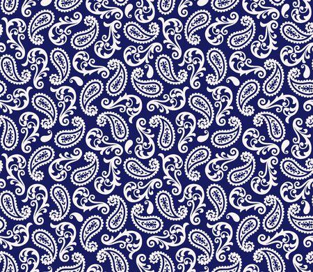 Illustration pour Paisley design pattern - image libre de droit