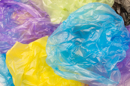 Photo for Disposable plastic bags - Royalty Free Image