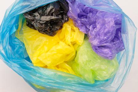 Foto de Disposable plastic bags - Imagen libre de derechos