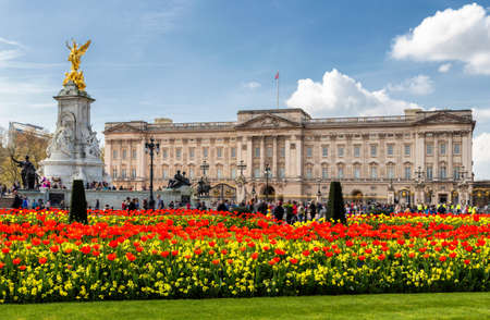 Foto de Buckingham Palace in London, United Kingdom. - Imagen libre de derechos
