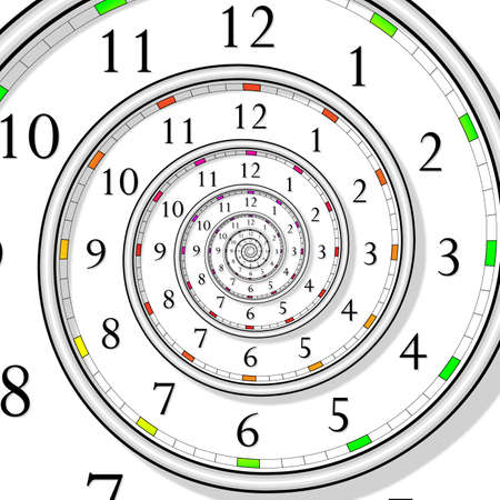 infinite time clock