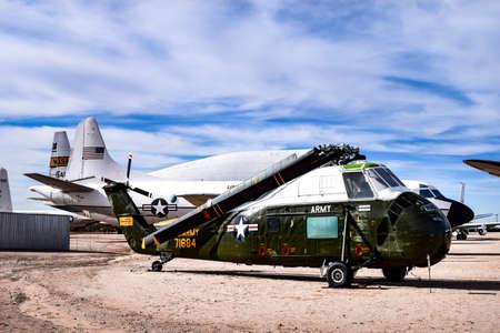 Foto de Tucson, Arizona, USA - December 27, 2016: Sikorsky VH-34C Choctaw - Imagen libre de derechos
