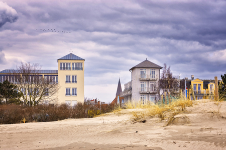 Photo for Living in a house on the beach in Warnemnde. - Royalty Free Image