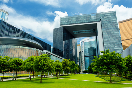 Photo for New Central Government Complex in Hong Kong - Royalty Free Image