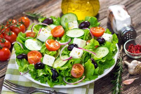 Photo for Greek Salad - Royalty Free Image