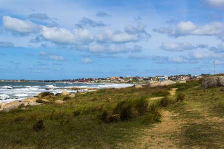 Photo for beach in Punta Del Diablo - Uruguay - Royalty Free Image