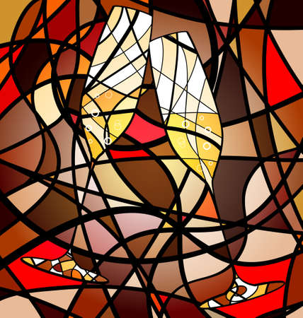 Photo pour abstract background champagne - image libre de droit
