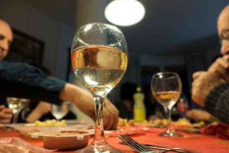 Foto de Family dinner - Imagen libre de derechos