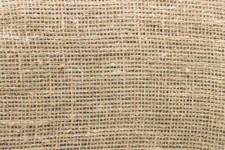Photo pour Texture of sackcloth rough fabric cloth with visible uneven threads. - image libre de droit