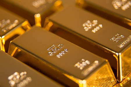 Photo for gold bars - Royalty Free Image