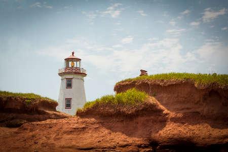 Foto de North Point Lightstation of Prince Edward Island - Imagen libre de derechos