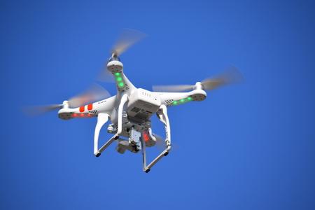 Foto de surveillance drone - Imagen libre de derechos