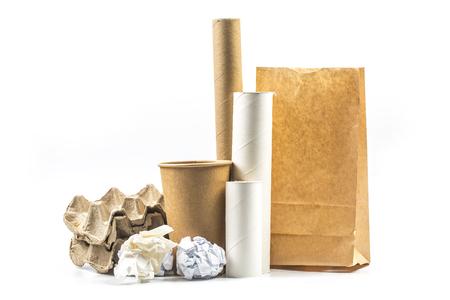 Foto de Waste paper, waste regeneration - Imagen libre de derechos