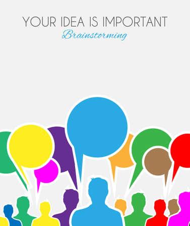 Ilustración de Worldwide communication and social media concept art. People communicating around the globe with a lot of connections. - Imagen libre de derechos