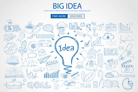 Illustration pour idea, big, vector - image libre de droit