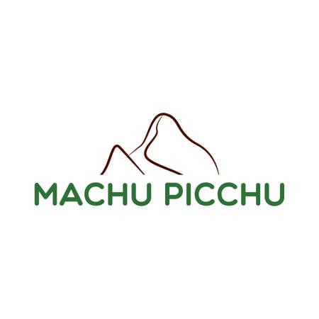 Illustration for Machu picchu background - Royalty Free Image