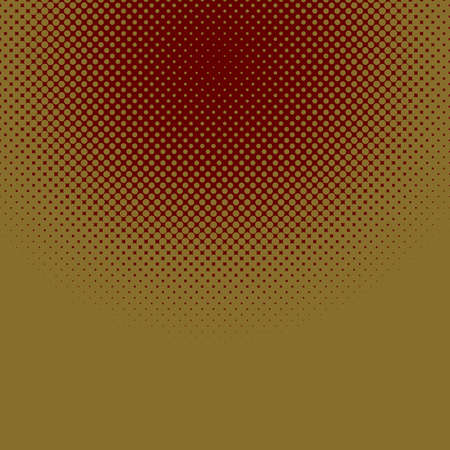 Illustrazione per Abstract geometric halftone dot pattern background vector illustration from circles. - Immagini Royalty Free