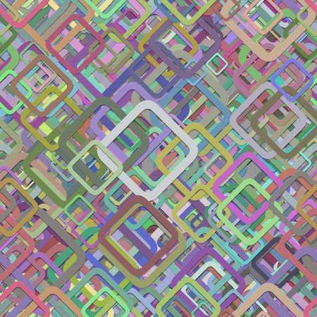 Ilustración de Seamless abstract colorful square background pattern. - Imagen libre de derechos