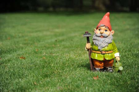 Photo pour Garden Gnome - image libre de droit