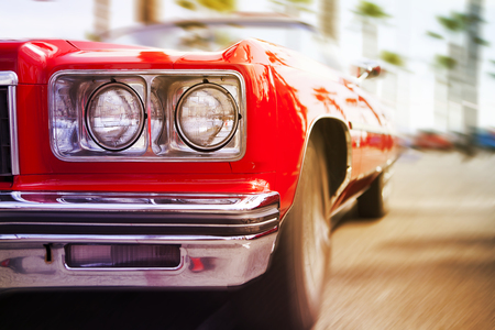 Photo pour Classic sports car. - image libre de droit