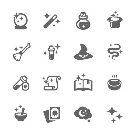 Ilustración de Magic Icons - Imagen libre de derechos
