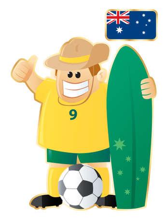 Football mascot Australia