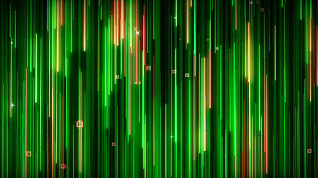 Photo for Green-yelow neon animated VJ background - Royalty Free Image