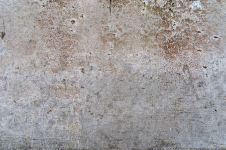 Foto de Aged concrete with red patterns and cracks - high quality texture / background - Imagen libre de derechos