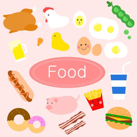 Food icon package