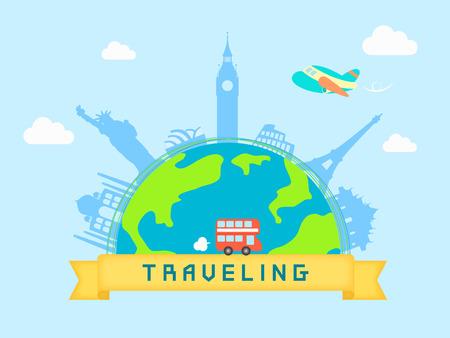 Overseas Travel template
