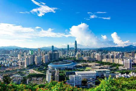 Photo pour Shenzhen skyline - image libre de droit