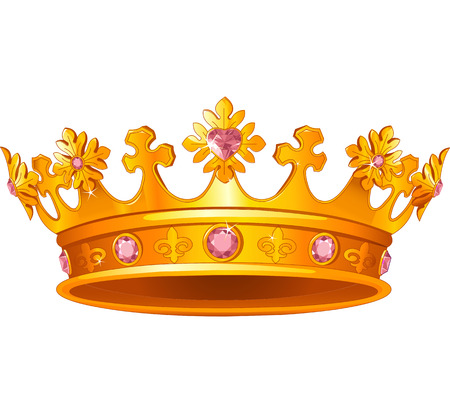 Illustration for Beautiful Royal crown - Royalty Free Image