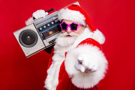 Photo for Disco trendy noel christmastime eve winter wish December stylish - Royalty Free Image