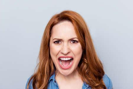 Foto de Close up photo beautiful woman - Imagen libre de derechos