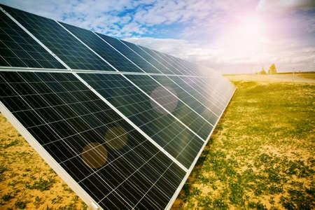 Foto de Solar energy panels - Imagen libre de derechos