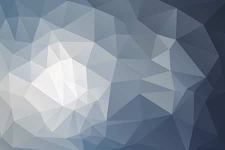 Illustration pour Abstract triangular geometry background in blue-gray color. - image libre de droit