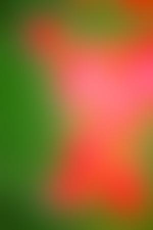Ilustración de Vector abstract smooth blur orange and green defocused background. Vertical format. - Imagen libre de derechos