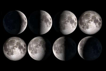 Foto de Moon phases - Imagen libre de derechos