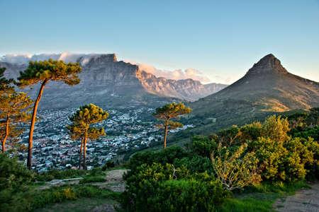 Photo pour Signal Hill, Cape Town, South Africa - image libre de droit